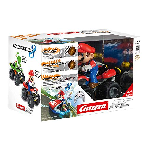 Carrera RC Nintendo Mario Kart 8 Mario Quad 370200996 Ferngesteuertes Auto