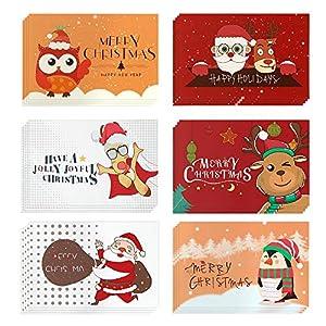 Navidad Tarjeta de Felicitación,Navidad Conjunto,24