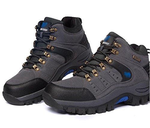 Uomini escursionismo scarpe da trekking sport all'aria aperta inverno impermeabile gray