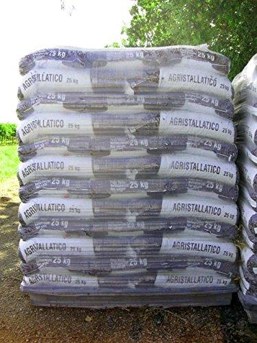 Stallatico in pellet (Agristallatico) 5/15 mm, concime granulare (pallet da 39 sacchi da 25 kg)