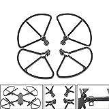 TianranRT 4PC Licht Propeller Schutz Stoßfänger für DJI Mavic 2 Pro Zoom Drohne Klingen Beschützer