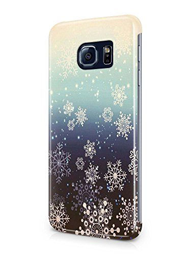 New generic protective 3D Beutiful snow holidays design cover case for Samsung Galaxy S7