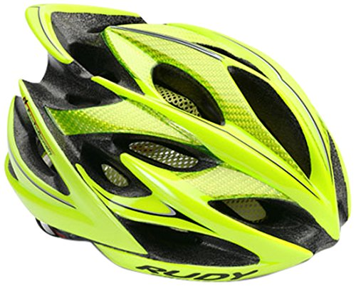 Rudy Project Windmax Casco, Yellow Fluo Shiny, L