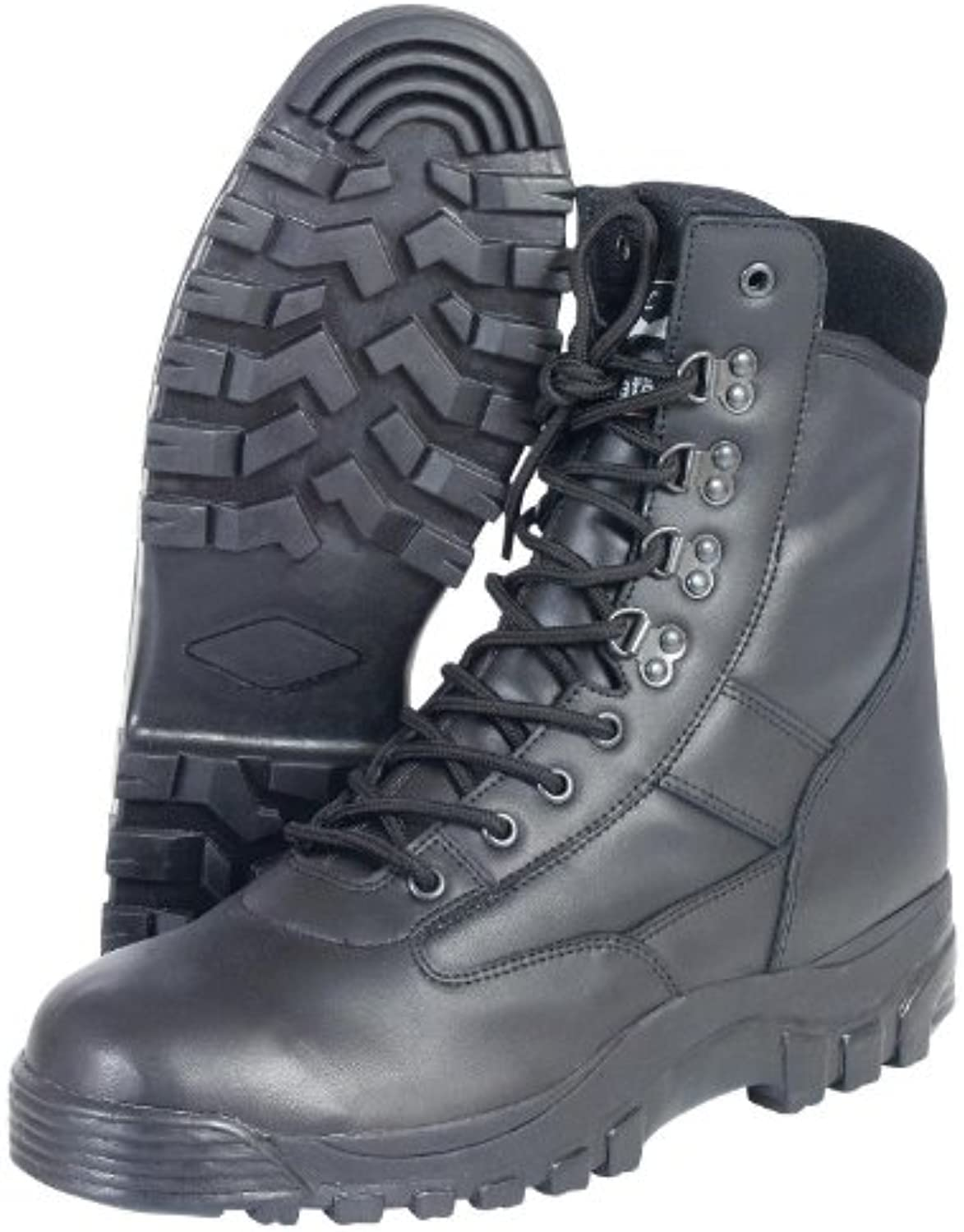 Mil-com all-leather PATROL stivali - Nero, 13 13 13 | Le vendite online
