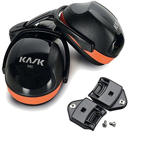 SC3 ORANGE KASK Ohrschützer Set mit Adapter für Plasmahelm SNR auf 31dB WHP000 01.203