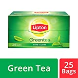 #7: Lipton Green Tea Pure and Light Tea Bags, 25 bags