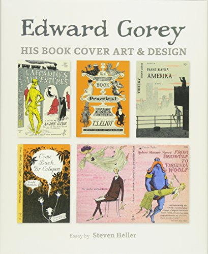 Edward Gorey His Book Cover Art & Design A239