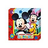 #7: Mickey Mouse Club House 2-Ply Paper Napkins - BV81510 - 20Pcs