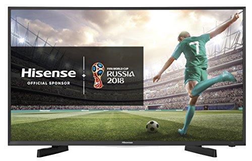 "Hisense H32M2608 TV LED HD 32"", Piattaforma SMART VIDAA 2, Design Pulito ed Elegante, 3HDMI, Hotel Mode e USB media player, DVB-T2/S2 (HEVC)"