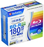 Verbatim Mitsubishi 25GB 4x Speed BD-R Blu-ray LTH TYPE Recordable Disk 10 Pack - Ink-jet printable - Each disk in a jewel case (japan import)