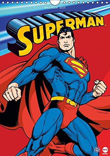 Kostüm Superman Kryptonit Und - SUPERMAN Posterkalender (Wandkalender 2015 DIN A4 hoch): Für alle Fans von SUPERMAN! (Monatskalender, 14 Seiten)