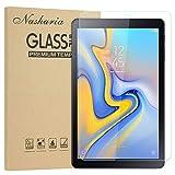 Nasharia Galaxy Tab A 10.5 Schutzfolie, Panzerglasfolie für Samsung SM-T590/T595, 2.5D, 9H Härte, Tempered Glas Folie Panzerglas Bildschirmschutz Folie für Samsung Galaxy Tab A 10.1 2018 T590/T595