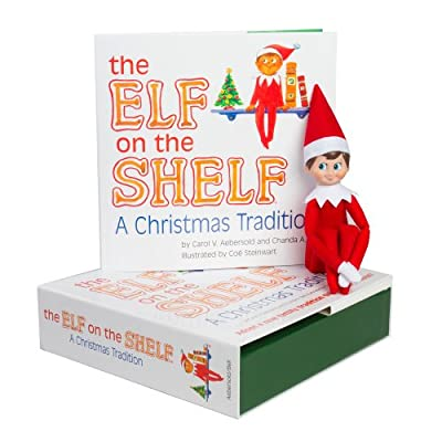 The Elf on the Shelf: A Christmas Tradition (blue-eyed boy scout elf)