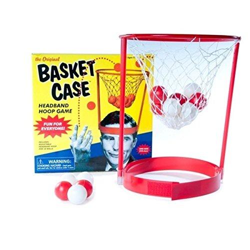 Basketball für den Kopf Scherzartikel – Korbball für den Kopf Spaßartikel Korb für den Kopf Partyspiel Fun