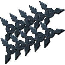 Ninja goma lanzamiento Estrella de Mixed Shuriken # 9–10Unidades, Sanpo