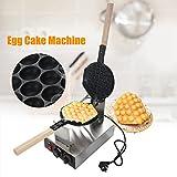 220V macchina per torta di uova professionale in acciaio inox piastra rivestimento antiaderente teglia per pasticceria