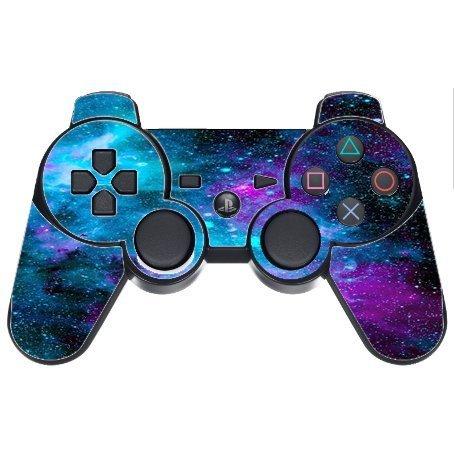 Aufkleber Aufkleber Nebel Galaxy Space Design Muster Print PS3Dual Shock Wireless Controller Vinyl Aufkleber Aufkleber Haut von Trendige Zubehör