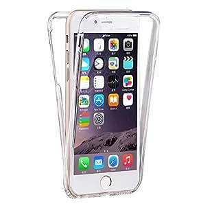 "Coque Gel iPhone 6 / 6S ( 4,7 pouces) 360 degrés Protection INTÉGRAL. Anti Choc , Etui Ultra Mince Transparent INVISIBLE iPhone 6 6S (4.7"")"