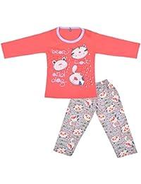 Kuchipoo Baby-Girls' Top and Pyjama Set