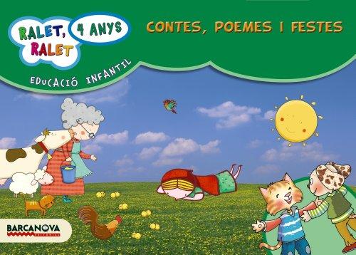Ralet, ralet P4. Contes, poemes i festes. Carpeta de l'alumne - 9788448929176 (Materials Educatius - Parvulari - 4 Anys)