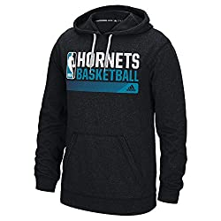 NBA Charlotte Hornets Icon Status Climawarm Ultimate Hoodie, Small, Black
