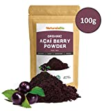 Organic Açai Berries Powder [Freeze - Dried] 100g | 100% Pure Brazilian Acai berry, Lyophilised, Raw and Extract from Acai Berry Pulp | Super-food Rich in Antioxidants and Vitamins | Vegan & Vegetarian Friendly | Ideal for desserts, smoothies, recipes, in