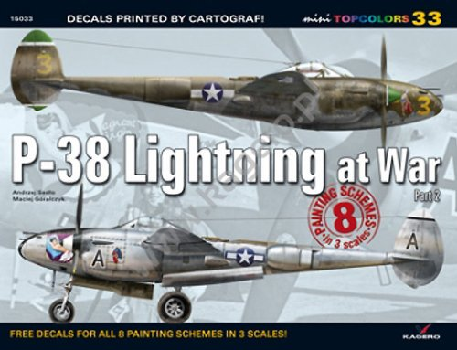 P-38 Lightning at War, Part 2: No. 33 (Mini Top Colors) por Andrzej Sadlo