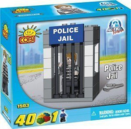 Cobi-Action-Town-Police-Jail-Playset