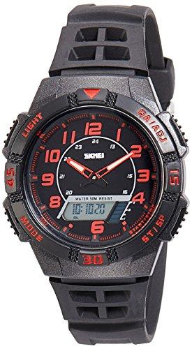 Skmei 1065BBR  Analog-Digital Watch For Unisex
