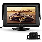 CARCHET® 170°IR Rückfahrkamera Auto Kamera + 4,3' TFT LCD Monitor Bildschirm Nachtsicht