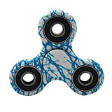 Etopfashion Hand Spinner Stress Relief Toy Enfants Tri Fidget Hand Spinner Focus Plastique Jouet Mini Poche Jouet Triangle Gyro Cadeau pour Adultes