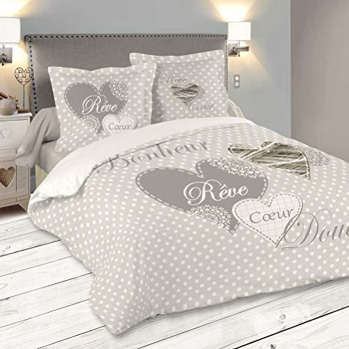 Lovely Casual Lyna Bettbezug mit 2 Kissenhüllen (240 cm)