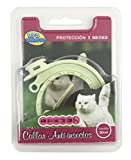 BPS® Collar Antiparasitario para Mascotas Perros / Gatos Antipulgas y Garrapatas Protección 3 Meses BPS-4001 (Para Gato 30cm)