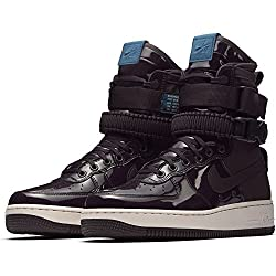 Nike Women's W Sf Af1 Se Prm Portwineportwinespaceblue Casual Shoe 7.5 Women Us