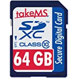 takeMS 107922 65536 Mo Carte mémoire SDXC