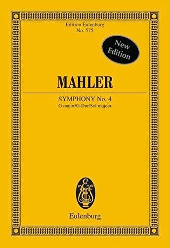 Sinfonie Nr. 4: G-Dur. Orchester. Studienpartitur. (Eulenburg Studienpartituren)