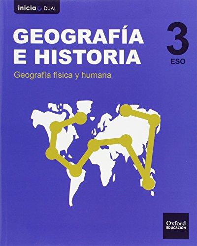 Geografía E Historia. Libro Del Alumno. Castilla La Mancha. ESO 3 (Inicia) - 9788467399035 (Inicia Dual)