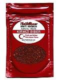 Kirmizi pul biber. Authentische türkische Paprika Red Chili gemahlen in 35g Glasgefäß