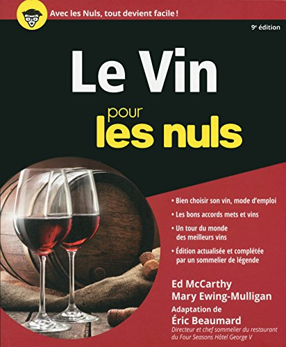 Le Vin pour les Nuls, 9e édition par Catherine GERBOD