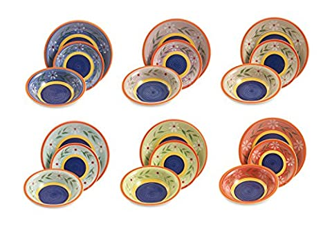 Galileo Tableware 18Pieces Lille Multicolour