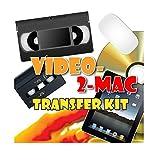 VHS und Camcorder USB Video Capture für Mac OSX. Inklusive USB-Gerät, Kabel, Scart-Adapter und Software. Konvertieren Sie VHS, S-VHS, VHS-C, Hi8, Digital8, Video8, Mini-DV. Anweisungen in Englisch.