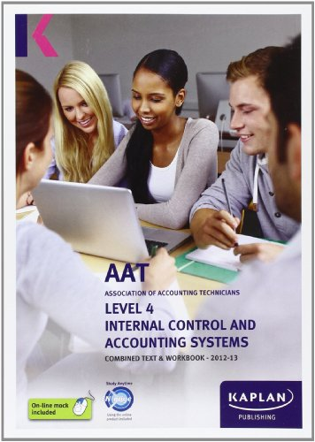 Internal Control and Accounting Systems - Combined for sale  Delivered anywhere in Ireland