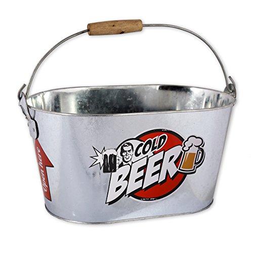 Bierkühler Party Time mit Flaschenöffner