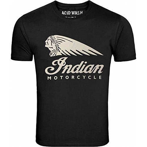 INDIAN MOTORCYCLES MENS T-SHIRT (Herren Acid-wash Print)