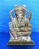 "5"" Marble Stone Crafted Pooja Puja Ganesh Ganesha Ganpati Ganapati Murti Idol"