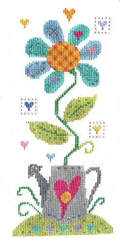 The Stitching Shed Die Nähte Schuppen Crazy Daisy, Kreuzstich -