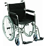 Drive Medical LAWC001 - Silla de ruedas (aluminio, 45,7 cm)