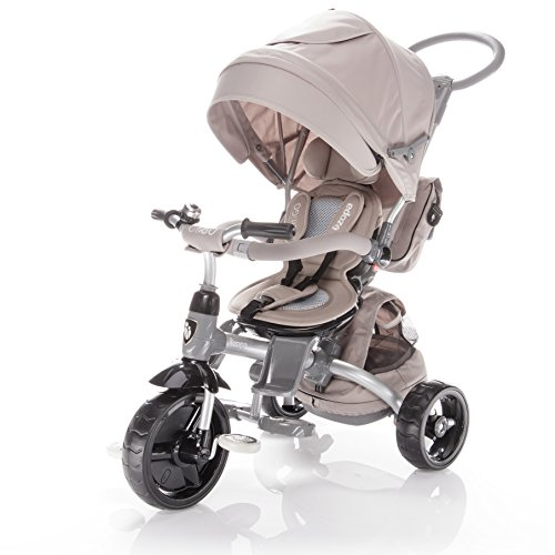 Zopa Triciclo Modello CITIGO Passeggino per Bambini (Almond Beige)