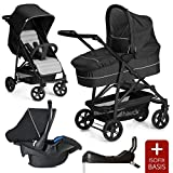 Hauck 10-teiliges Kinderwagen Set 3in1 - Rapid 4 Plus Trio