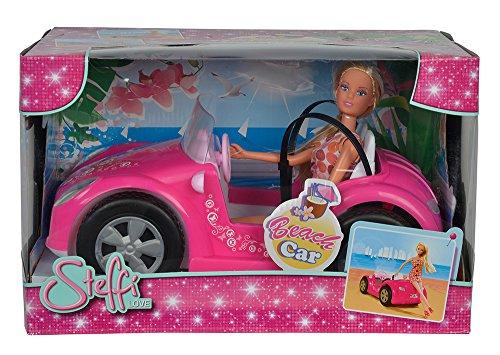 Simba 105738332 - Steffi Love Puppe im Strandauto -